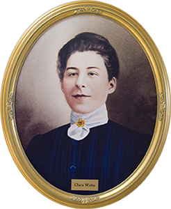 A portrait of Clara Welty