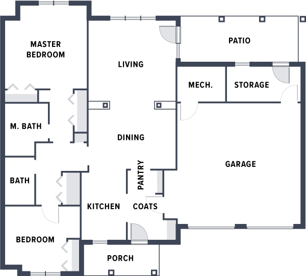 Welty Village Floorplan