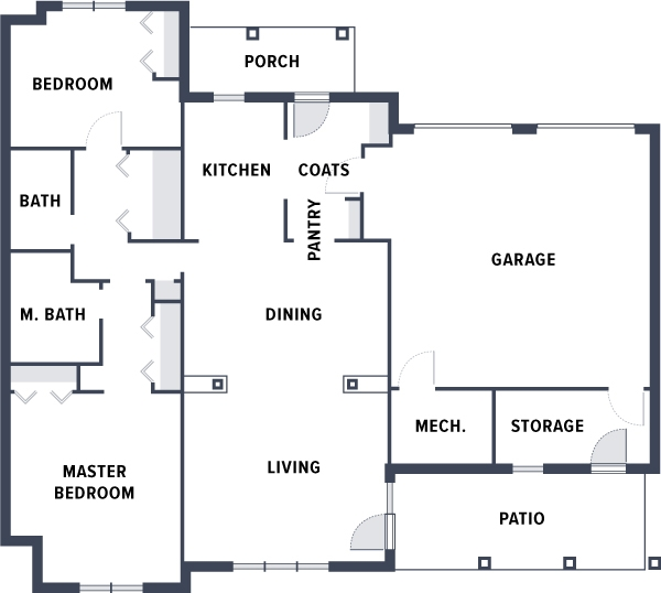 Welty Village floorplan 2