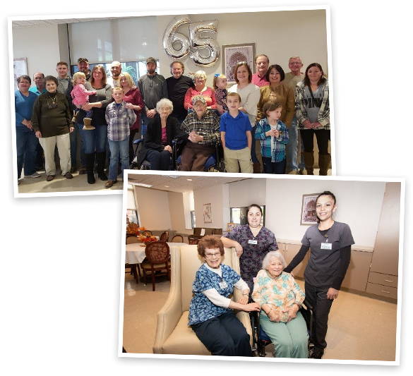 Private Events at Good Shepherd Nursing Home